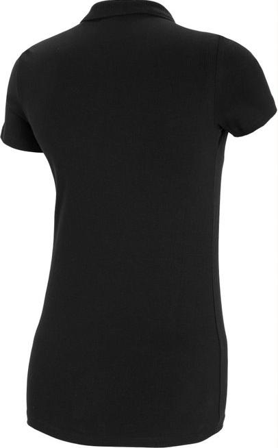T-shirt damski 4F TSD008 koszulka polo czarna