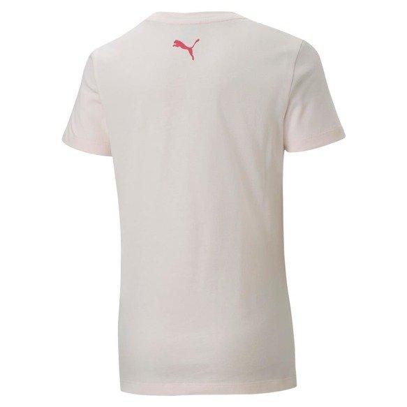 T-shirt dziewczęcy PUMA 581360 JASNO RÓŻOWY