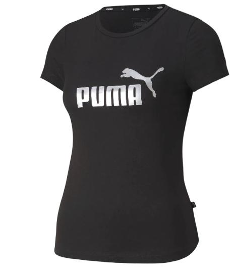 T-shirt dziewczęcy PUMA koszulka 582556 CZARNA