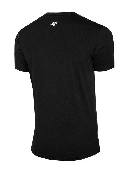 T-shirt funkcyjny męski 4F TSMF060 GŁĘBOKA CZERŃ