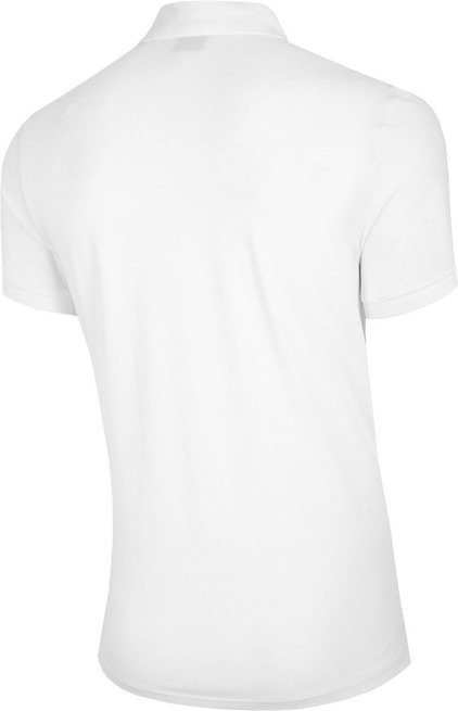 T-shirt koszulka męska 4F polo TSM008 biała