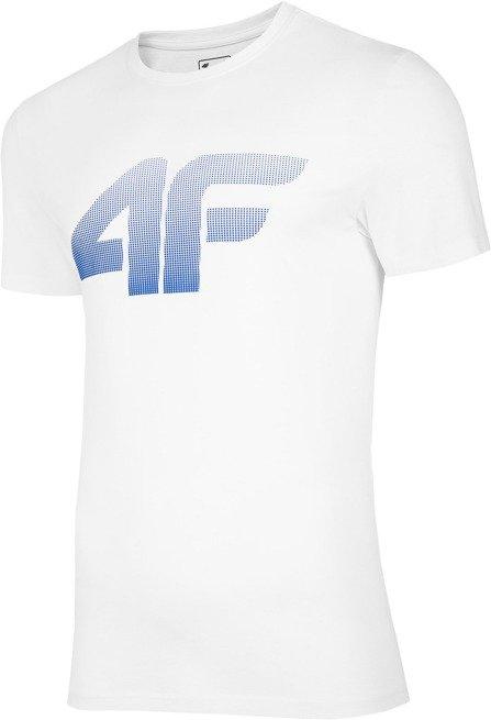 T-shirt męski 4F TSM004 BIAŁY
