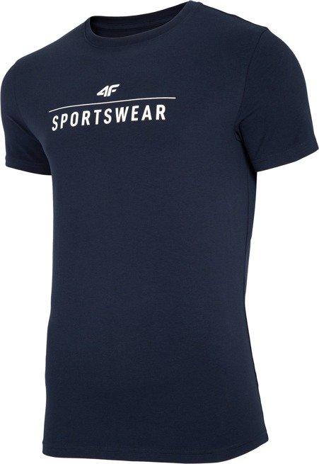 T-shirt męski 4F TSM005 GRANAT