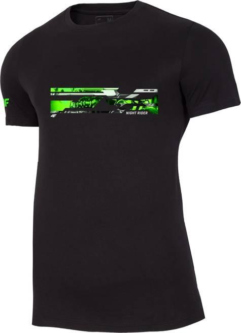T-shirt męski 4F TSM011 GŁĘBOKA CZERŃ