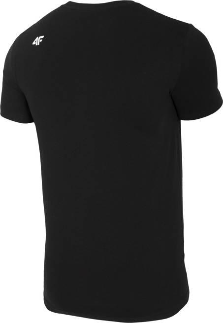T-shirt męski 4F TSM013 GŁĘBOKA CZERŃ