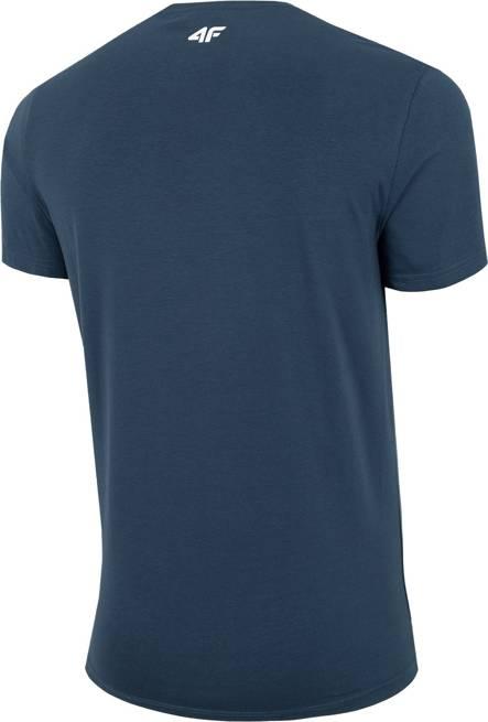 T-shirt męski 4F TSM062 granatowy