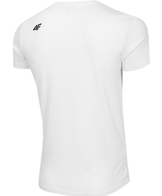 T-shirt męski 4F TSM077 koszulka biała