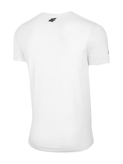 T-shirt męski 4F koszulka TSM025 biała