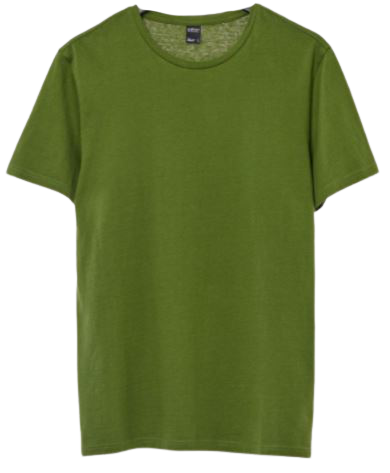 T-shirt męski OUTHORN TSM600 bawełniany khaki