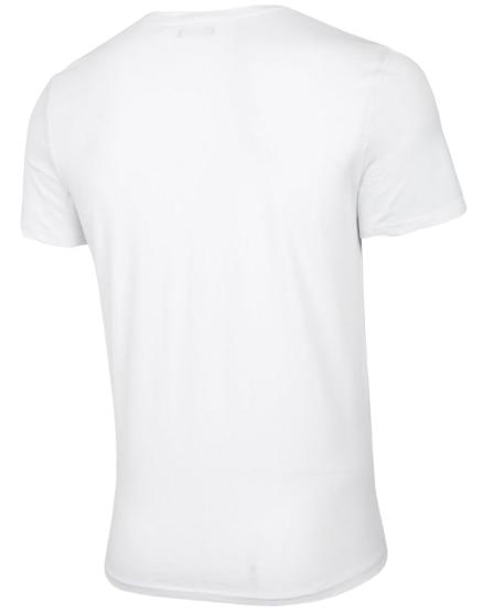 T-shirt męski OUTHORN TSM622 koszulka biała