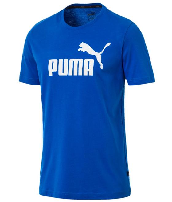 T-shirt męski PUMA ESS Logo 851740 niebieski