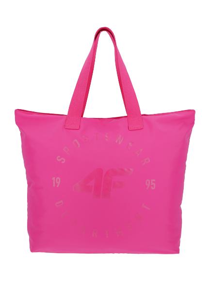 Torba plażowa 4F sportowa damska TPL001 różowa