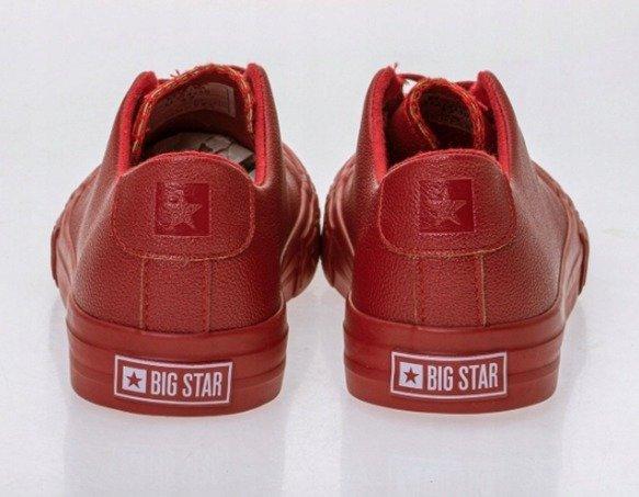 Trampki damskie BIG STAR EE274250 czerwone
