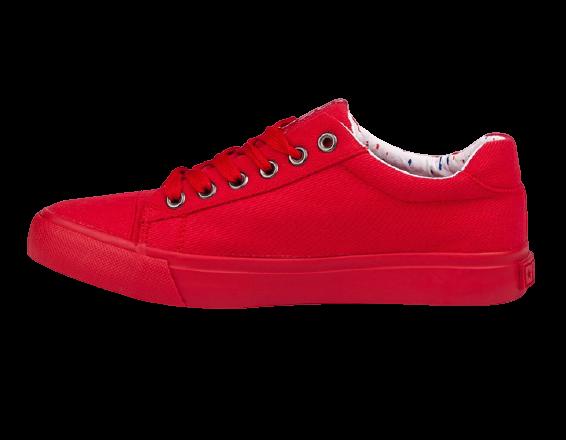 Trampki damskie czerwone BIG STAR AA274514