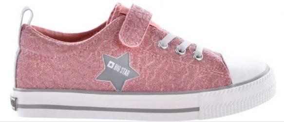 Trampki dziecięce BIG STAR HH374027 różowe