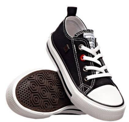 Trampki dziecięce BIG STAR HH374090 czarne