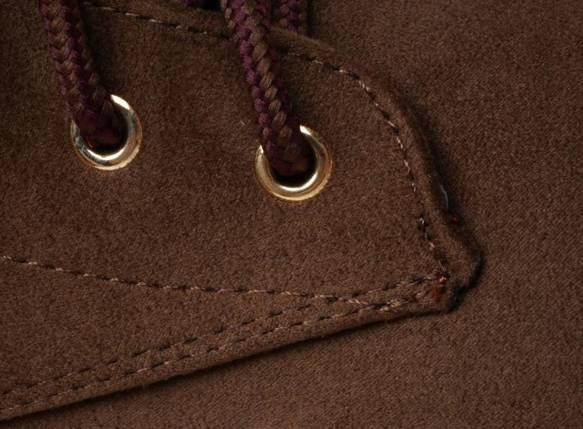Trapery damskie botki 1268-2 brązowe