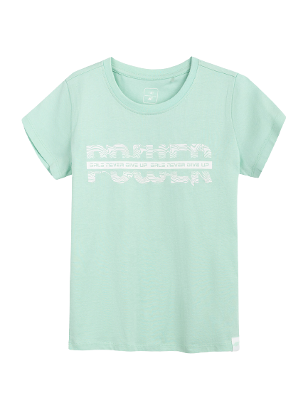 Zestaw 2 szt koszulek dziewczęcych 4F t-shirt
