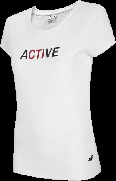 Zestaw sportowy 4F koszulka + legginsy