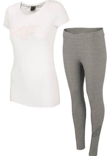 Zestaw sportowy damski 4f t-shirt legginsy